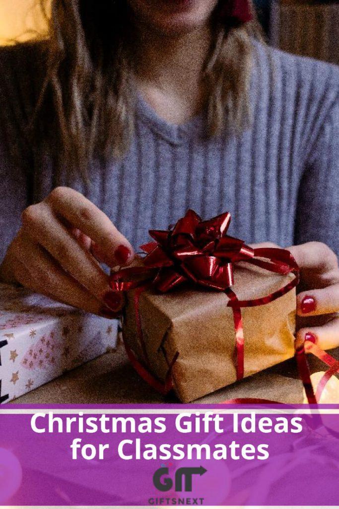 Best Christmas Gift Ideas for Classmates