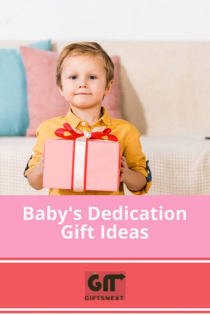 Baby's Dedication Gift Ideas