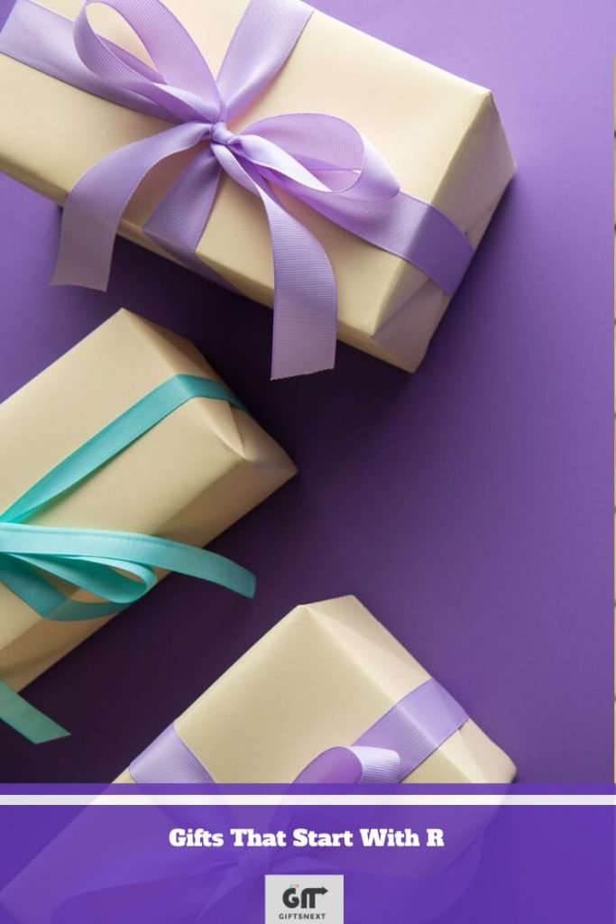 Gifts That Start With R
