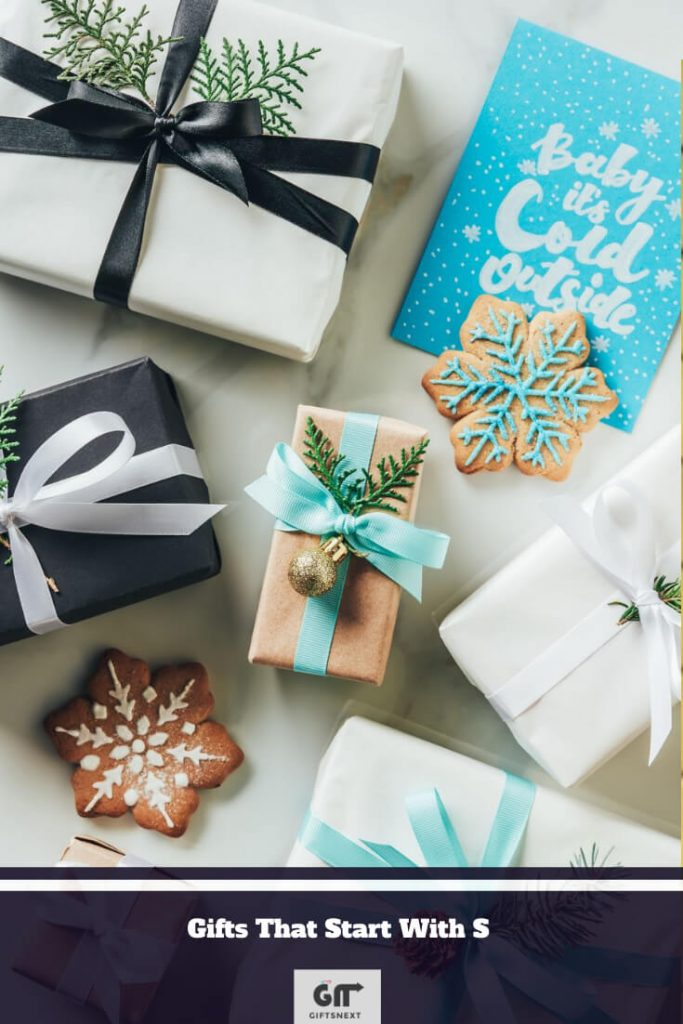 Gifts That Start With S